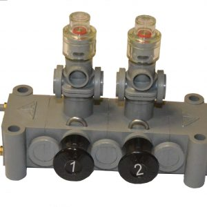 Double pneumatic switch.