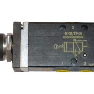 Pneumatic switch of 3 ports.
