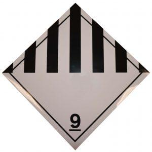 Sticker for dangerous substances for the environment