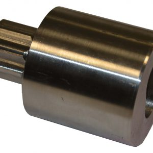 Adapter for pneumatic actuator