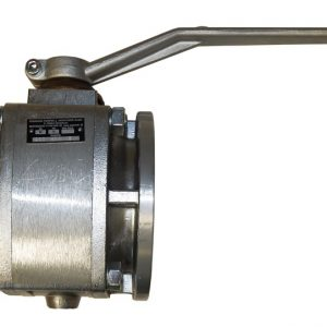 Ball valve with TW flange
