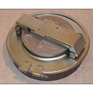 DN 500 clamped manhole cover